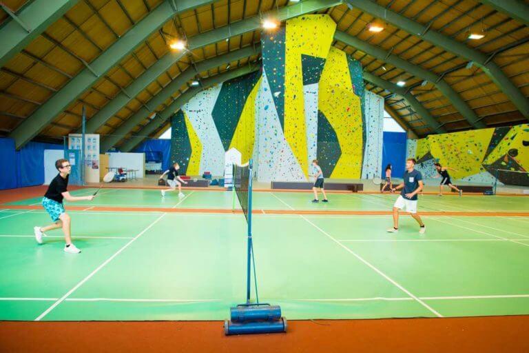 Badminton Sports Activities Summer Camp Montana