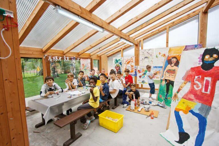summer camp montana activities arts and crafts