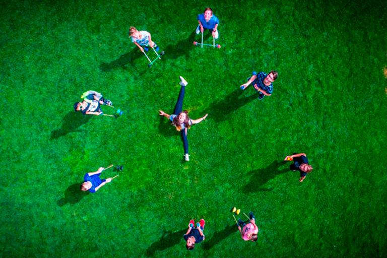 circus at summer camp montana activities