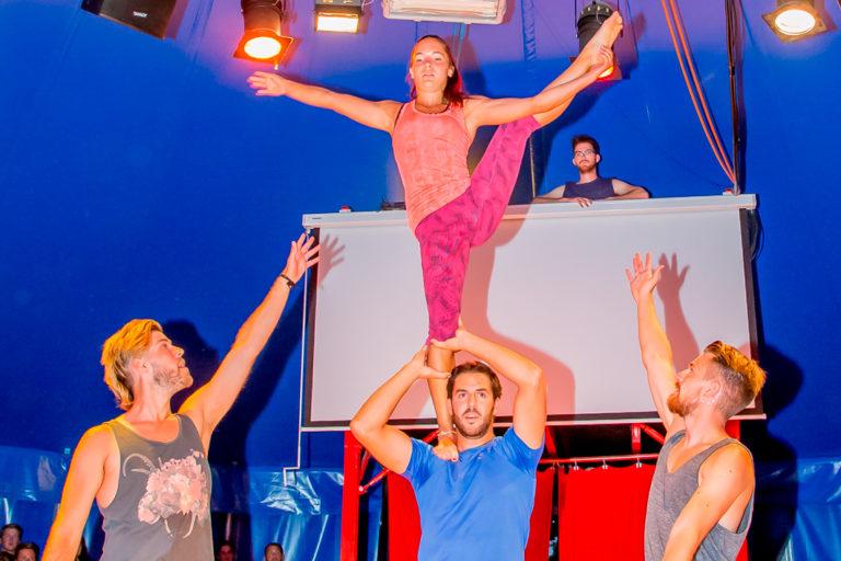 evening activities summer camp montana staff show