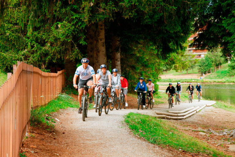 mountain biking activities at summer camp montana